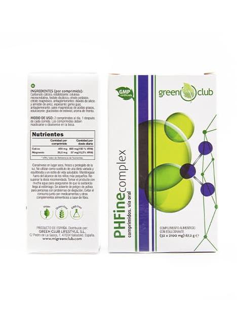 PH Fine Complex en comprimidos