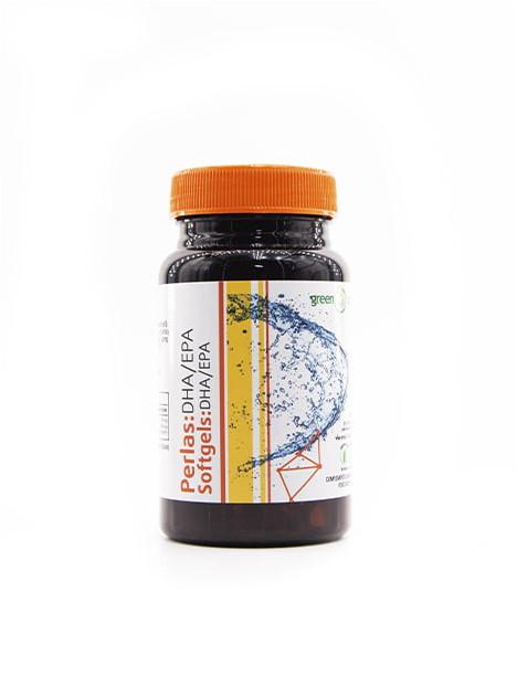 Perlas EPA/DHA Aceite de pescado