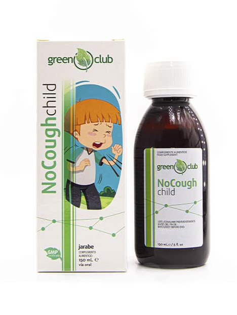 No Cough Child en jarabe para niños
