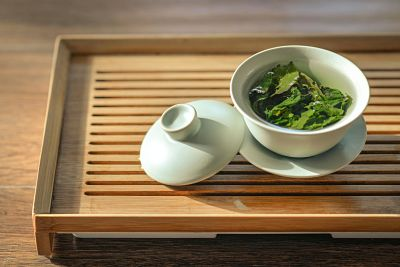 controlar el estrés té verde