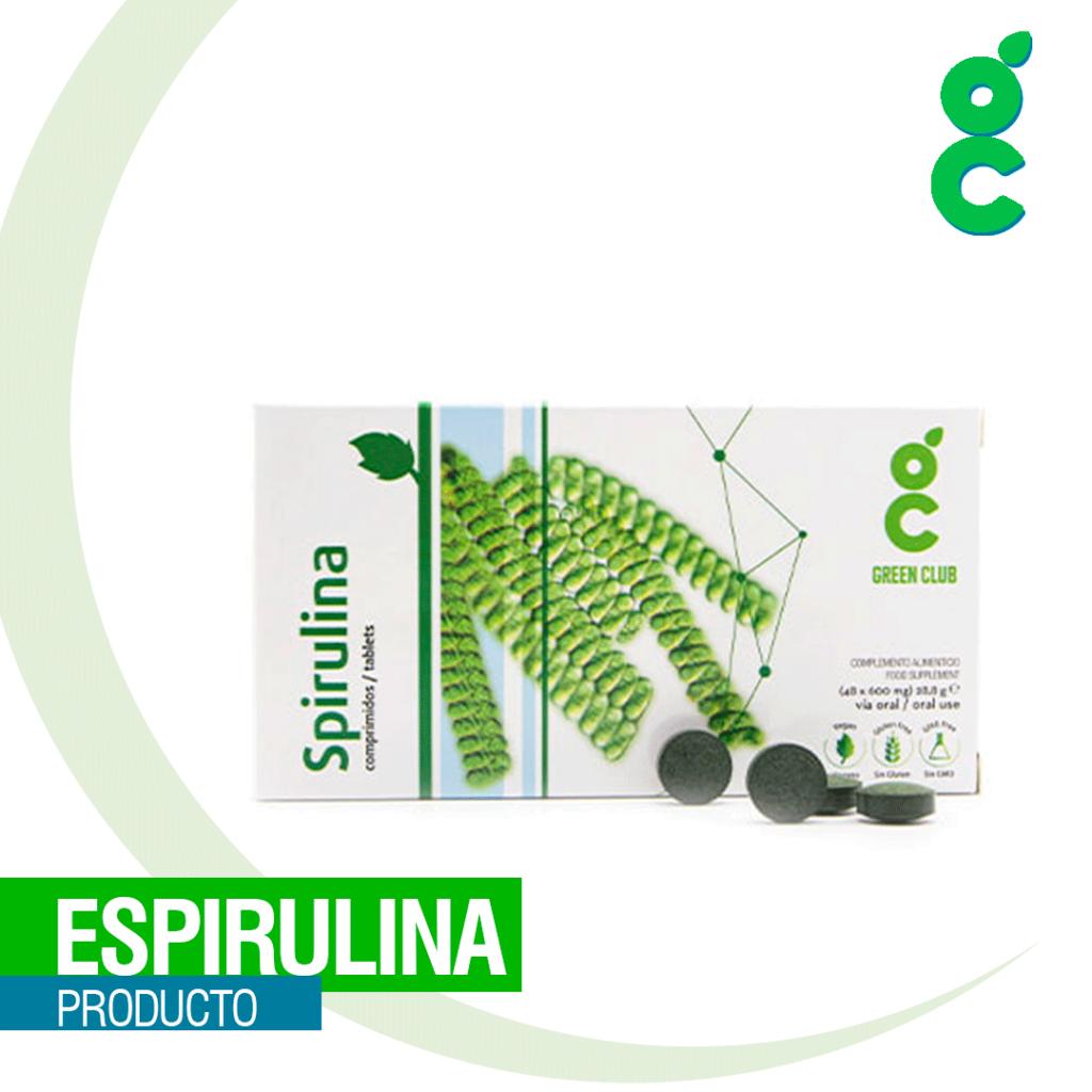 Beneficios de la espirulina